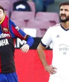 ميسي يتسبب بعقوبة على برشلونة