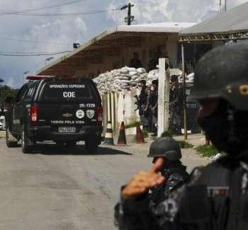 عصابة برازيلية ضخمة تقتحم بنكا بأسلحة ثقيلة