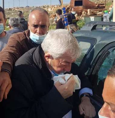 إصابة العالول وعساف خلال قمع الاحتلال مسيرة منددة بالاستيطان في سلفيت