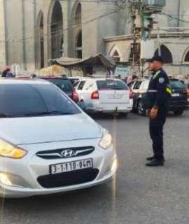 """حالة الطرق وحوادث السير في قطاع غزة """" الجمعة """""""