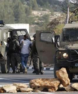 الاحتلال يعتقل 16 مواطنا من مدن الضفة الغربية