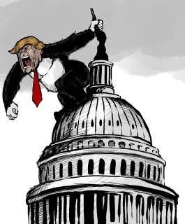 ترمب لن أغادر البيت الأبيض