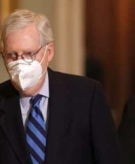 """زعيم الجمهوريين في مجلس الشيوخ الأميركي: ترمب حرض الحشود خلال اقتحام """"الكابيتول"""""""
