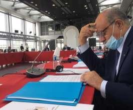 فلسطين تشارك في اجتماعات معهد العالم العربي بباريس