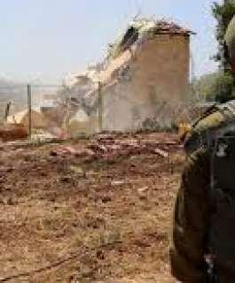 السلطات الإسرائيلية تهدم منزلين قيد الإنشاء في قلنسوة بأراضي الـ48
