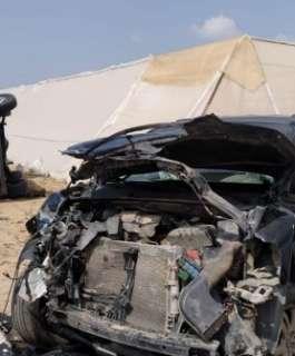 النقب: 14 إصابة في حادث طرق