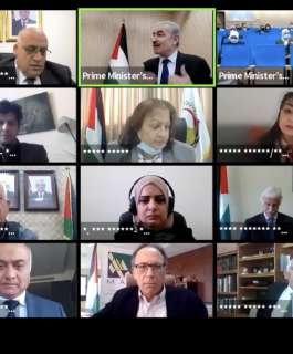 """مكتب رئيس الوزراء يختتم فعاليات مؤتمر """"كوفيد-19: حالة فلسطين التحديات والمواجهة"""""""