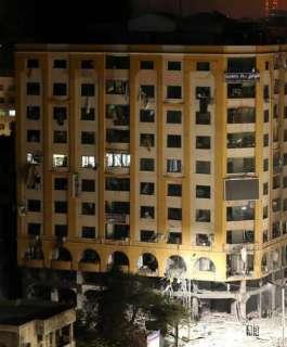 بماذا علق مالك برج الجوهرة الذي قصفه الاحتلال بمدينة غزة؟