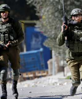 الاحتلال ينتشر في محيط مدرسة شرق بيت لحم ويعرقل سير العملية التعليمية
